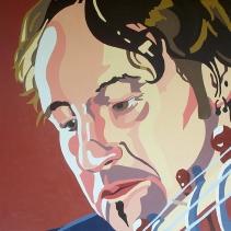 """Bill,"" Oil on Canvas, 36"" x 36"", $3900"