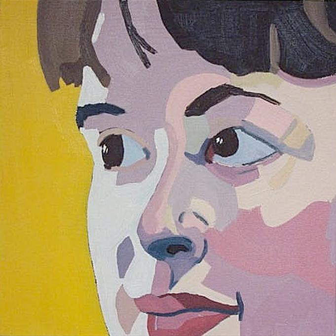 """Jessica,"" Oil on Canvas, 12"" x 12"", $440"
