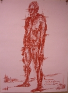 Jerry - Nude Standing - Vertical and horizontal Study
