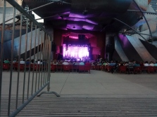 Concert of Idina Menzel at the Millennium Park in Chicago