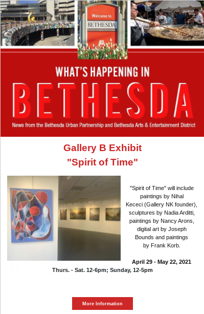What's Happening in Bethesda April 2021